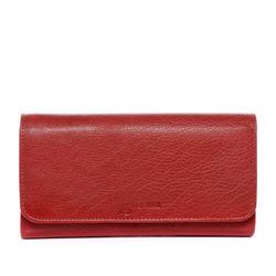 BACCINI Portemonnaie GIANNINA Vintage Leder rot Geldbörse Portemonnaie 3