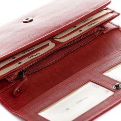 BACCINI Portemonnaie GIANNINA Vintage Leder rot Geldbörse Portemonnaie 5