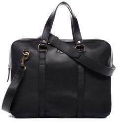 SID & VAIN Laptoptasche Maguire Premium Smooth schwarz Businesstasche Laptoptasche 7