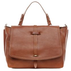 Laptop tote bag LORETTA Crunchy Leather