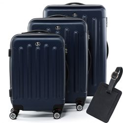 luggage set 3 piece LYON ABS