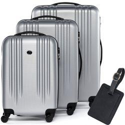 luggage set 3 piece Marseille ABS