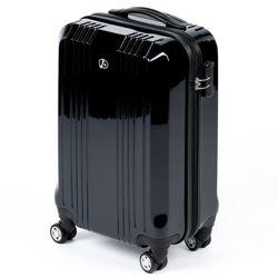 FERGÉ Großer Koffer CANNES ABS & PC Full Black Hartschalenkoffer Trolley 4 Rollen Großer Koffer Hartschale 2