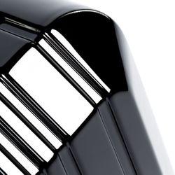 FERGÉ Großer Koffer CANNES ABS & PC Full Black Hartschalenkoffer Trolley 4 Rollen Großer Koffer Hartschale 3
