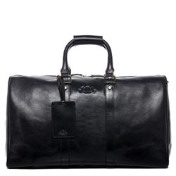 travel bag holdall  FRANKLIN Smooth Leather