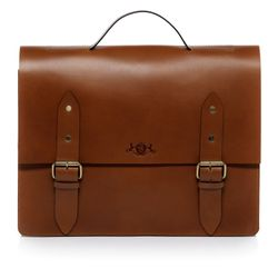 SID & VAIN Briefcase XL  & Bikebag - XL - 2056 -  tan Saddle