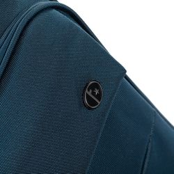 FERGÉ Handgepäck-Koffer Calais Bordgepäck-Trolley Weichschale carry-on Nylon Koffer Leicht Stoffkoffer Kabinentrolley 4 Rollen (360°) 4