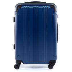 FERGÉ Handgepäck 55 cm Hartschale royal-blau Reisekoffer Kabinentrolley 4 Rollen 360° Handgepäck-Koffer Hartschale 55 cm 1