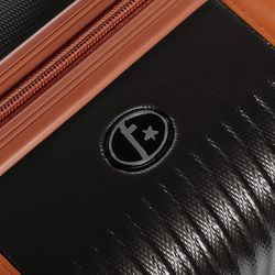 FERGÉ Handgepäck-Koffer MILANO Bordgepäck-Trolley leicht carry-on ABS Dure-Flex Koffer Leicht Reisekoffer Kabinentrolley 4 Rollen (360°) 5