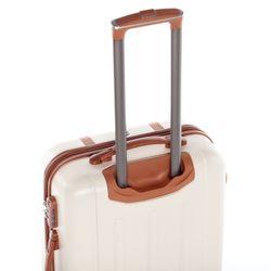 FERGÉ Handgepäck 55 cm Hartschale camel-beige Reisekoffer Kabinentrolley 4 Rollen 360° Handgepäck-Koffer Hartschale 55 cm 5