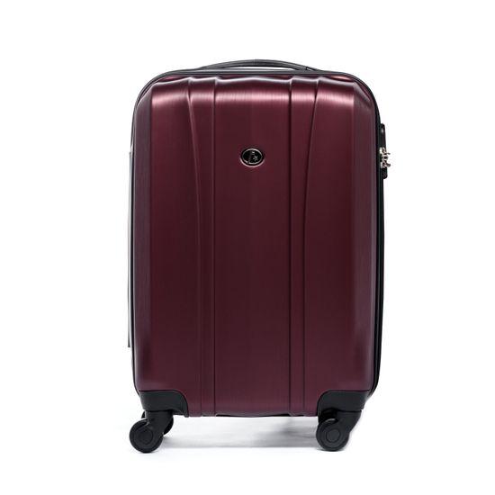 FERGÉ Handgepäck-Koffer Hartschale Dijon Kabinen-Trolley 4 Rollen Burgundrot   Taschen > Koffer & Trolleys > Sonstige Koffer   FERGÉ