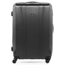FERGÉ large trolley Dijon -XB-04- suitcase hard-top case ABS&PC - graphite-wire