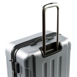 FERGÉ Trolley XL LYON Koffer Groß leicht 4 Rollen (360°) XL ABS Dure-Flex Koffer Leicht Trolley-Hartschalenkoffer 8