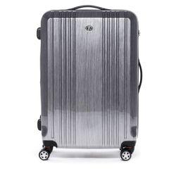 FERGÉ Mittelgroßer Koffer CANNES Trolley-Koffer Hartschale leicht M ABS & PC Koffer Leicht Hartschalenkoffer M 4 Rollen (360°)