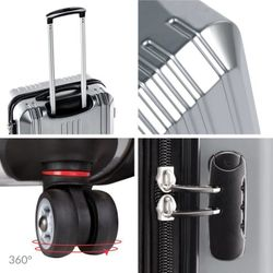 XL large hard-case luggage CANNES Polycarbonate 5