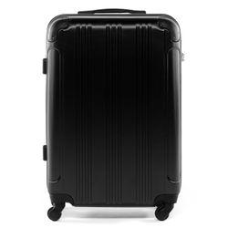 FERGÉ Reisbagage ABS Trolley-koffer zwart Trolley-koffer QUÉBEC