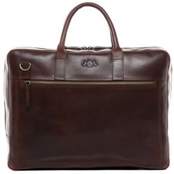 laptop bag DIXON Natural Leather