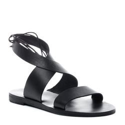 ankle strap sandal CARA Nappa Leather