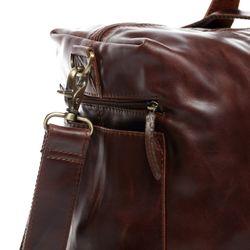 SID & VAIN Reisetasche Natur-Leder braun Sporttasche Reisetasche 4