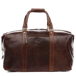 Travel bag holdall  ZANE Natural Leather