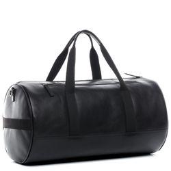 SID & VAIN Sporttasche FINLAY Premium Smooth schwarz Reisetasche Sporttasche 3