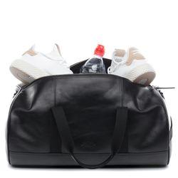 SID & VAIN Sporttasche FINLAY Premium Smooth schwarz Reisetasche Sporttasche 6
