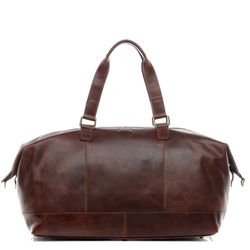 Travel bag holdall  LOGAN Natural Leather