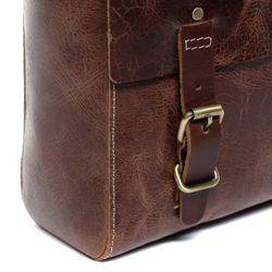 SID & VAIN Messenger bag DUNCAN Distressed Leder vintage-braun Laptoptasche Messenger bag 8