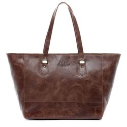 Top-handle Tote bag TRISH Distressed Leather