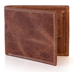Billfold Wallet JACK Distressed Leather