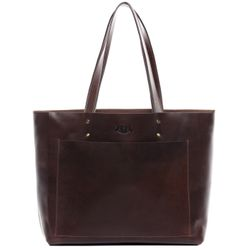 Top-handle Tote bag PIPER Smooth Leather