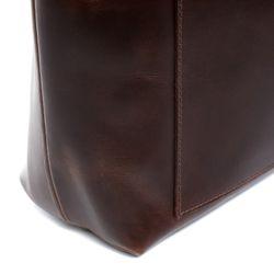 SID & VAIN Handtasche PIPER Premium Smooth braun Ledertasche Handtasche 2