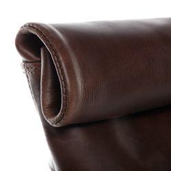 SID & VAIN Rucksack Glattleder braun Backpack Tagesrucksack Kurierrucksack Rucksack 10