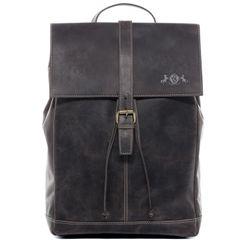 SID & VAIN sac à dos cuir marron sacs portés dos backpack ville voyage scolaire