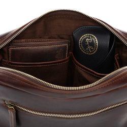 SID & VAIN Hüfttasche Natur-Leder braun-cognac Bauchtasche aus Leder Hüfttasche 6