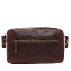 SID & VAIN Hüfttasche Natur-Leder braun-cognac Bauchtasche aus Leder Hüfttasche