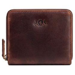 SID & VAIN portefeuille cuir marron porte-monnaie bourse