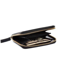 SID & VAIN Portemonnaie HANNAH Premium Smooth schwarz Geldbörse Portemonnaie 6