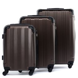luggage set 3 piece QUÉBEC ABS