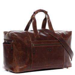 SID & VAIN Reisetasche HAWAII Natur-Leder braun-cognac Sporttasche Reisetasche 6