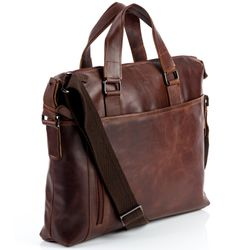 laptop bag LEANDRO Natural Leather 6