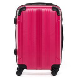 FERGÉ 3er Kofferset QUÉBEC ABS Dure-Flex pink 3er Hartschalenkoffer Roll-Koffer 4 Rollen Kofferset Hartschale 3-teilig 2