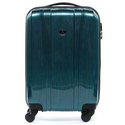 FERGÉ 3er Kofferset Dijon ABS & PC Petrol 3er Hartschalenkoffer Roll-Koffer 4 Rollen Kofferset Hartschale 3-teilig 10