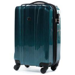 FERGÉ 3er Kofferset Dijon ABS & PC Petrol 3er Hartschalenkoffer Roll-Koffer 4 Rollen Kofferset Hartschale 3-teilig 7