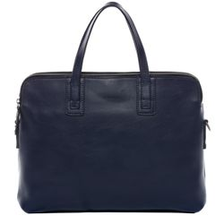 FEYNSINN Aktentasche Premium Smooth blau Laptoptasche Businesstasche 1