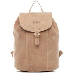 SID & VAIN Backpack Leer Rugzak bruin