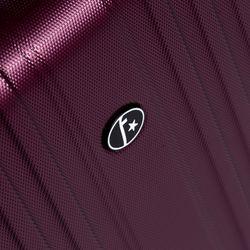 FERGÉ Handgepäck-Koffer TOULOUSE Bordgepäck-Koffer leicht carry-on ABS Dure-Flex Koffer Leicht Reisekoffer Kabinentrolley 4 Zwillingsrollen (360°) 4