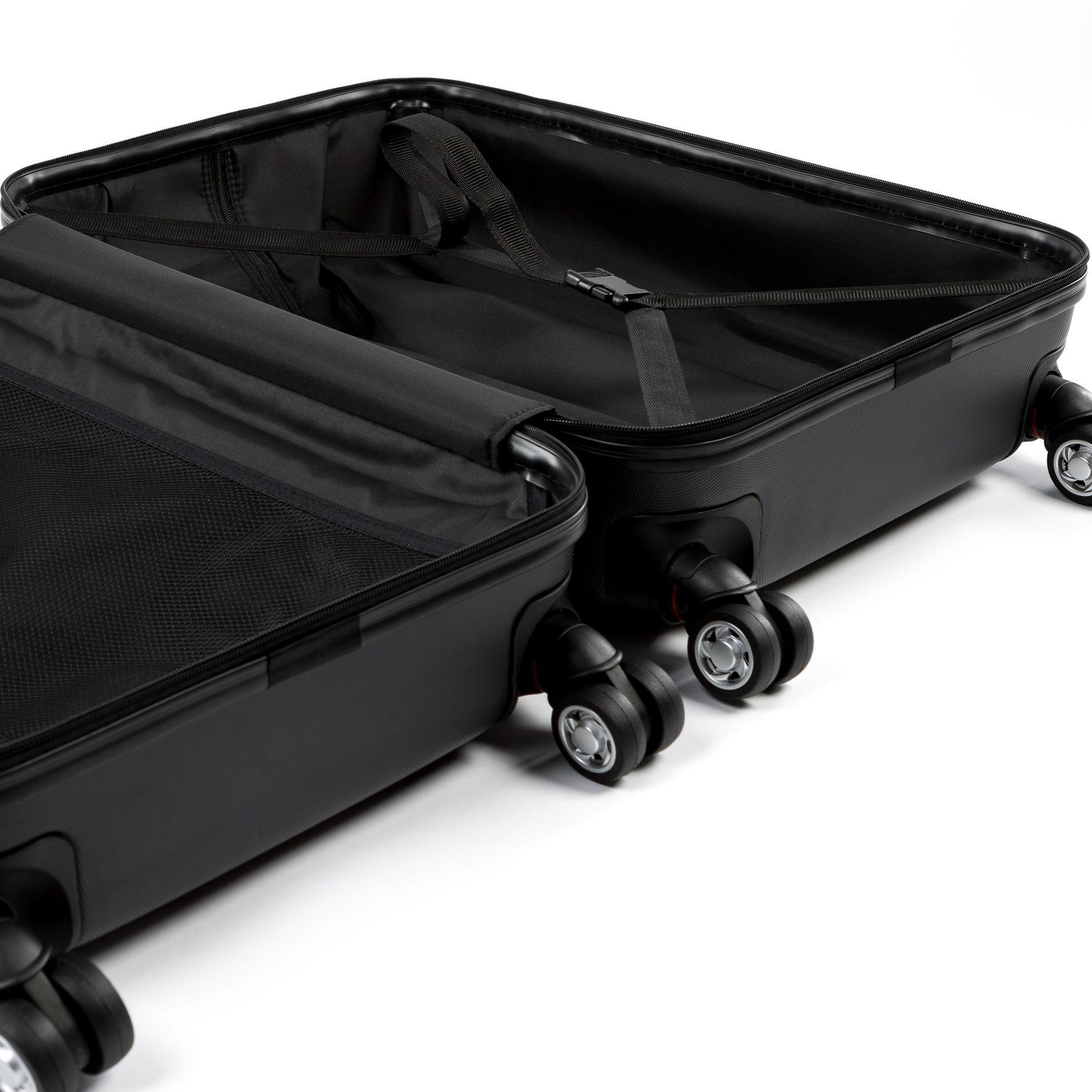 ferg handgep ck 55 cm hartschale lyon schwarz reisekoffer. Black Bedroom Furniture Sets. Home Design Ideas