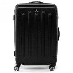 FERGÉ Handgepäck-Koffer LYON Bordgepäck-Koffer leicht carry-on ABS Dure-Flex Koffer Leicht Reisekoffer Kabinentrolley 4 Zwillingsrollen (360°)