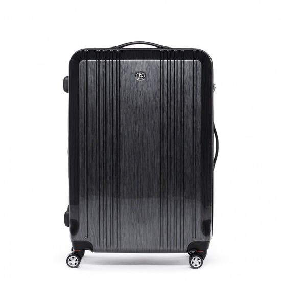 FERGÉ Großer Koffer Hartschale CANNES Hartschalenkoffer 4 Rollen graphite | Taschen > Koffer & Trolleys | FERGÉ